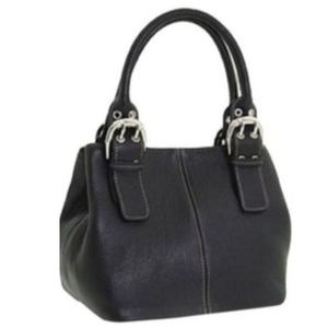 TIGNANELLO Perfect 10 genuine black leather purse